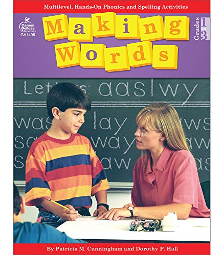 9780866538060: Making Words, Grades 1 - 3: Multilevel, Hands-On Phonics and Spelling Activities