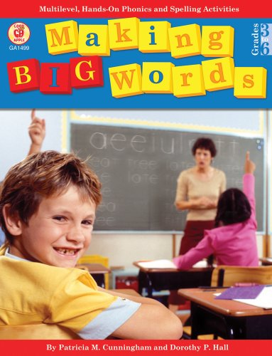 9780866538077: Making Big Words: Multilevel, Hands-On Spelling and Phonics Activities (A Good Apple Language Arts Activity Book for Grades 3-6)