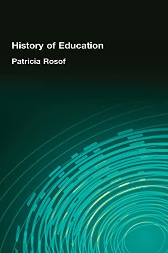 9780866561372: History of Education