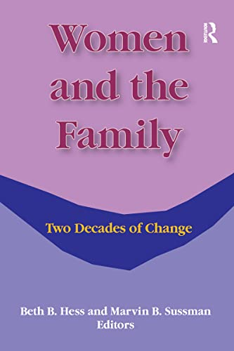 9780866562911: Women and the Family: Two Decades of Change