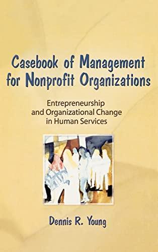 9780866563246: Casebook Management For Non-Profit Organizations: Enterpreneurship & Occup