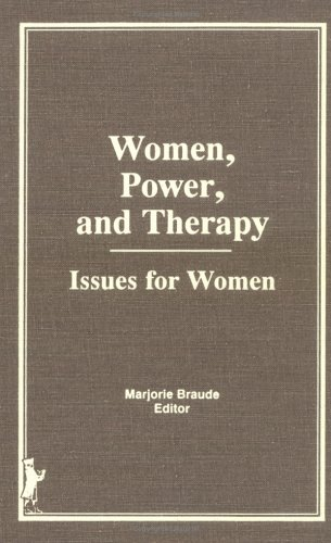 9780866566537: Women, Power, and Therapy: Issues for Women