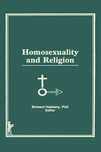 9780866569095: Homosexuality and Religion (Journal of Homosexuality)