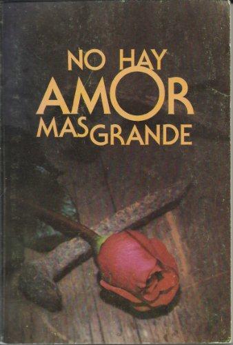 9780866609265: No Hay Amor Mas Grande