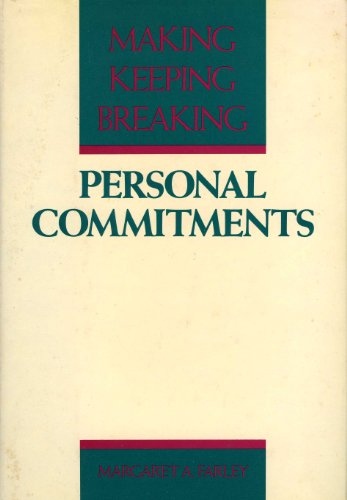 9780866834766: Personal commitments: Beginning, keeping, changing