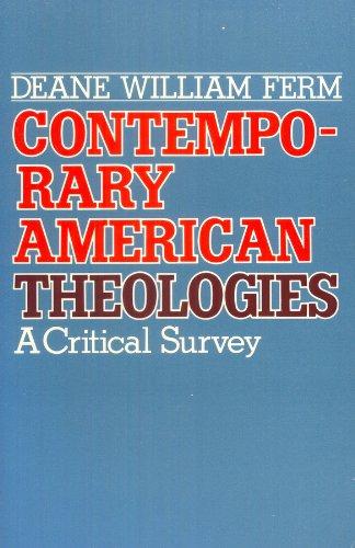 9780866839105: Contemporary American Theologies: A Critical Survey