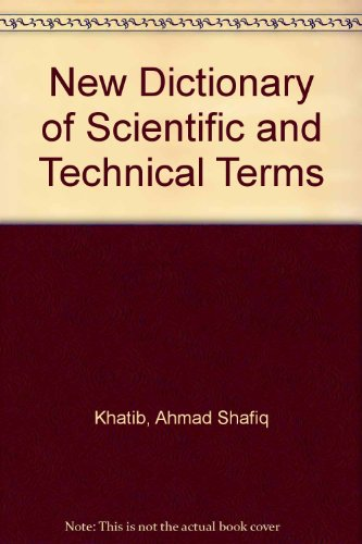 9780866850759: New Dictionary of Scientific and Technical Terms