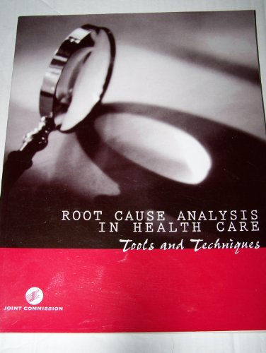 9780866886413: Root Cause Analysis in Health Care