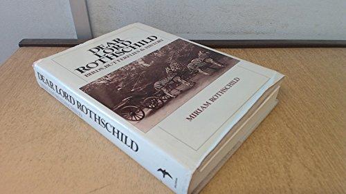 Dear Lord Rothschild: Birds, butterflies, and history: Miriam Rothschild