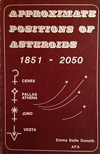 Approx Positions of Asteroids, Eighteen Fifty-One to Two Thousand Fifty