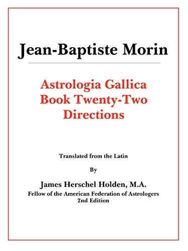 9780866904254: Astrologia Gallica Book 22