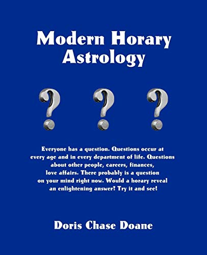 9780866904391: Modern Horary Astrology