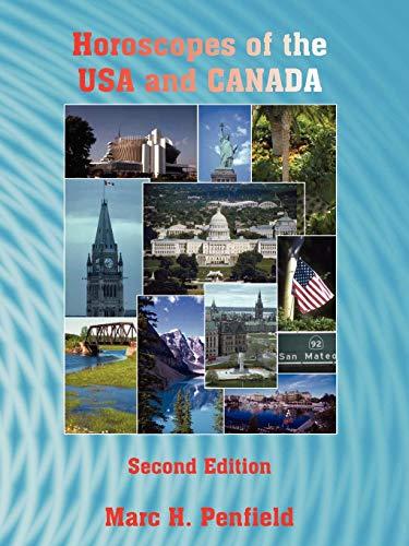 9780866904650: Horoscopes of the USA and Canada