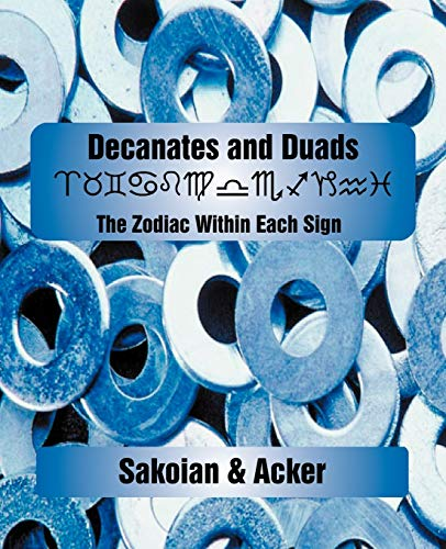 9780866905992: Decanates and Duads