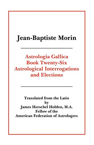 9780866906081: Astrologia Gallica Book 26