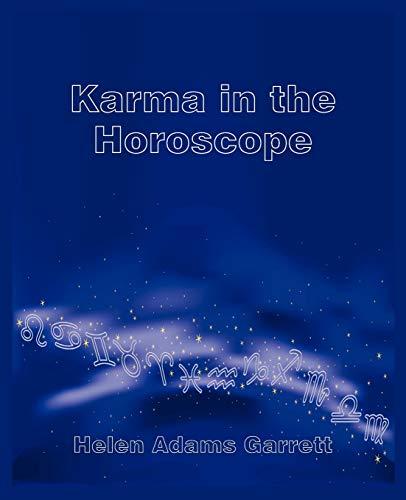 9780866906142: Karma in the Horoscope