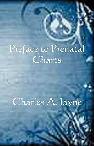 9780866906203: Preface to Prenatal Charts