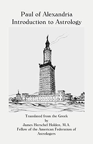 Paul of Alexandria: James Herschel Holden