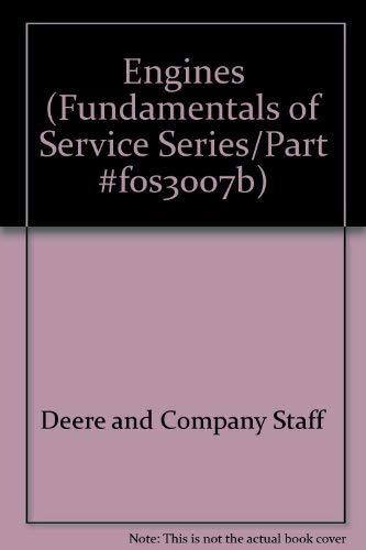 9780866911375: Engines (Fundamentals of Service Series/Part #F0S3007B)