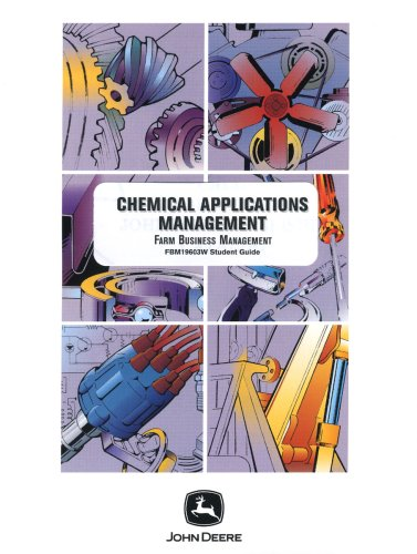 9780866912389: Chemical Application Management Student Guide