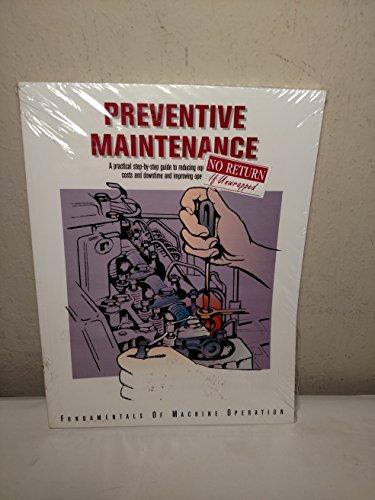 9780866912679: Preventive Maintenance