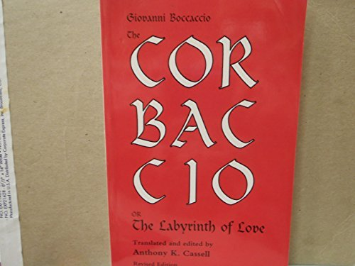9780866981545: The Corbaccio or the Labyrinth of Love (Pegasus Paperbooks)