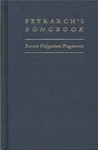 9780866981910: Petrarch's Songbook: Rerum Vulgarium Fragmenta : A Verse Translation (Medieval and Renaissance Texts and Studies)
