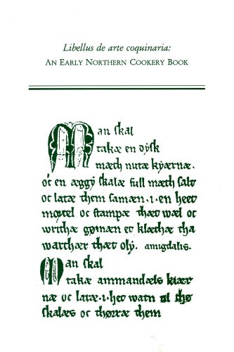 9780866982641: Libellus De Arte Coquinaria: An Early Northern Cookery Book (Medieval and Renaissance Texts & Studies)