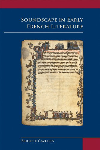 9780866983396: Soundscape in Early French Literature (Medieval & Renaissance Texts & Studies (Series))
