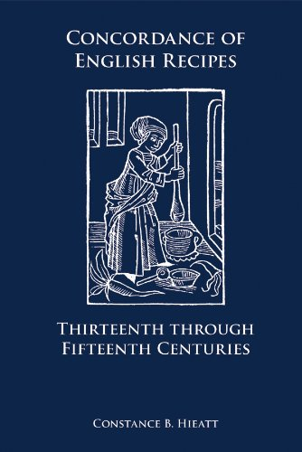 9780866983570: Concordance of English Recipes: Thirteenth Through Fifteenth Centuries (Medieval and Renaissance Texts and Studies)