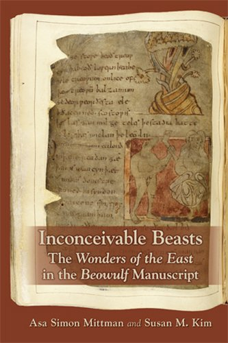 9780866984812: Inconceivable Beasts: The Wonders of the East in the Beowulf Manuscript (Medieval and Renaissance Texts and Studies)