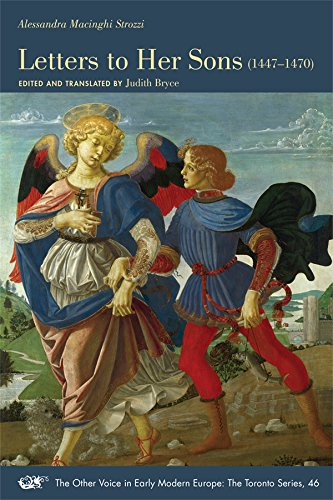 9780866985482: Alessandra Macinghi Strozzi: Letters to Her Sons (1447-1470) (MEDIEVAL & RENAIS TEXT STUDIES)