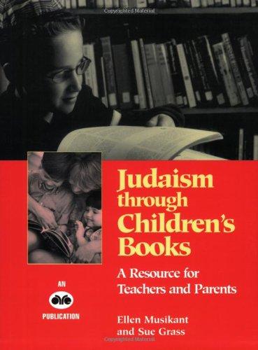 9780867050509: Judaism through children's books: A resource for teachers and parents