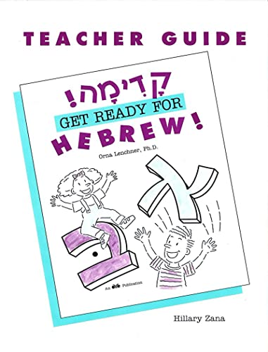 9780867050561: Get Ready for Hebrew!