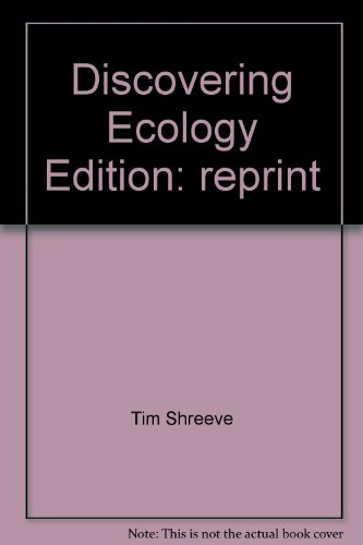 Discovering Ecology: Tim Shreeve