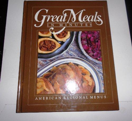 American Regional Menus (Great Meals in Minutes): By the Editors