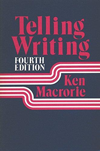 9780867091533: Telling Writing