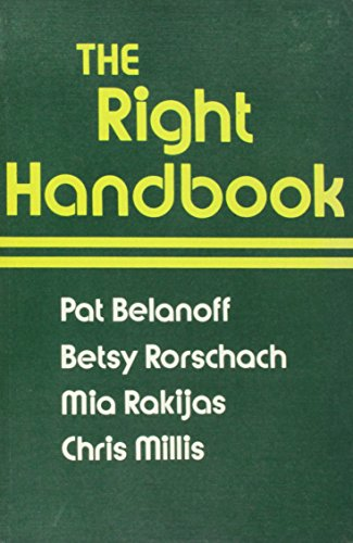 9780867093162: The Right Handbook: Grammar and Usage in Context