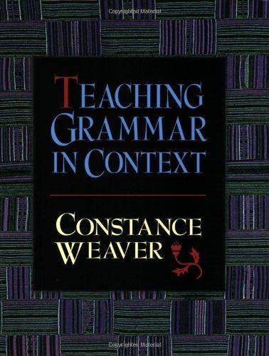9780867093759: Teaching Grammar in Context