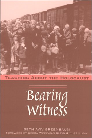 9780867095104: Bearing Witness: Teaching About the Holocaust