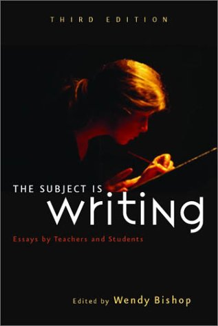 9780867095487: The Subject Is Writing: Essays by Teachers and Students