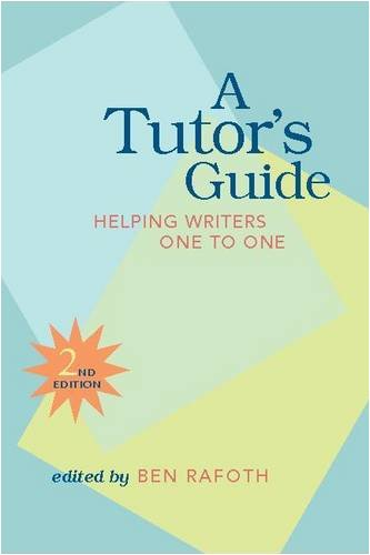 9780867095876: A Tutor's Guide: Helping Writers One to One, Second Edition