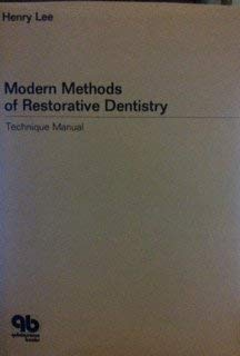 9780867151015: Modern Methods of Restorative Dentistry: Technique Manual (174P)