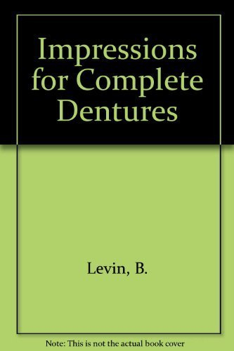 9780867151145: Impressions for Complete Dentures