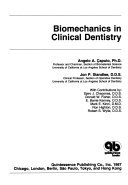 9780867151787: Biomechanics in Clinical Dentistry