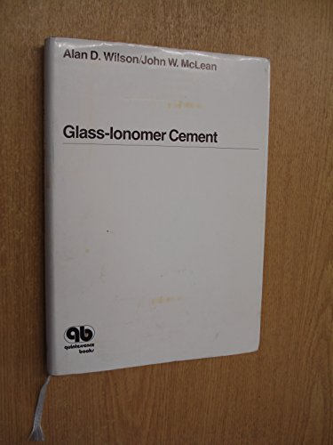 9780867152005: Glass-ionomer Cement
