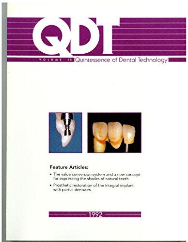 9780867152470: Quintessence of Dental Technology (QDT (QUINTESSENCE DENTAL TECHNOLOGY))