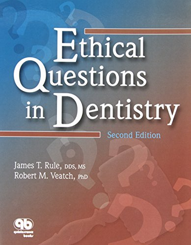 9780867154436: Ethical Questions In Dentistry