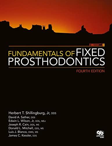 9780867154757: Fundamentals of Fixed Prosthodontics