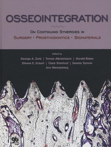 9780867154795: Osseointegration: On Continuing Synergies in Surgery, Prosthodontics, Biomaterials